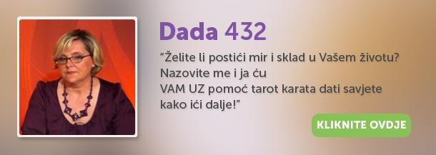 Dada, Dada 432, proricanje, tarot, energija