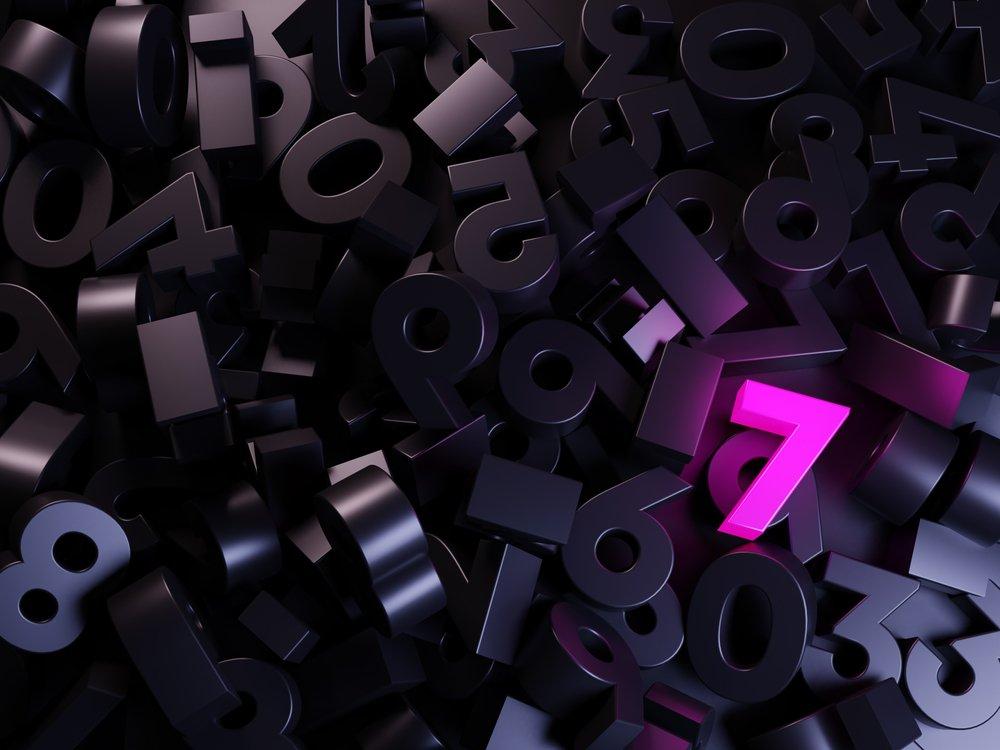 Numerologija broja 7 - Što je toliko posebno u sedmicama?