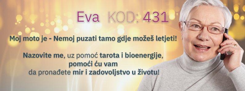Eva kod 431 ce Vam reci hocete li uskoro biti zaljubljeni