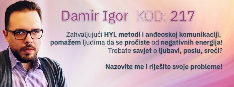 Astro savjetnik Damir Igor - kod 217