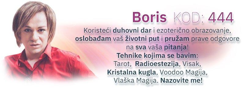 Astro voditelj Boris - kod 444