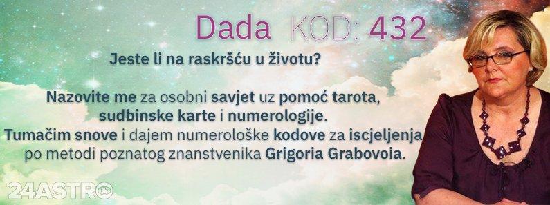 Astro savjetnica Dada - kod 432