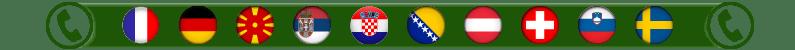svajcarska, nemacka, austrija, srbija, francuska, hrvatska, slovenija, svedska, bih